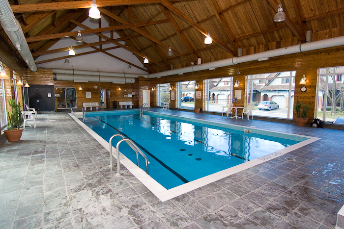 Indoor Lap Pool at the Eagle Ridge Rec Centre. 2155, 2177, 2199 Burnhamthorpe Rd W, Mississauga