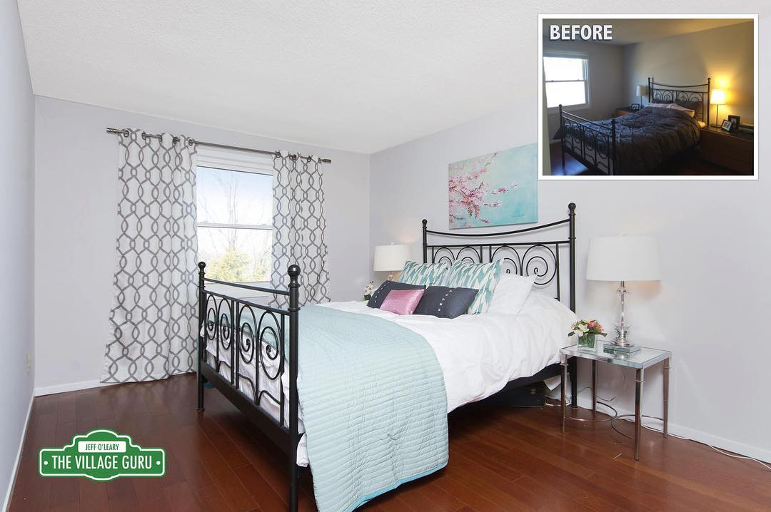 1 Room 2 Ways How a Master Bedroom went fromhellip