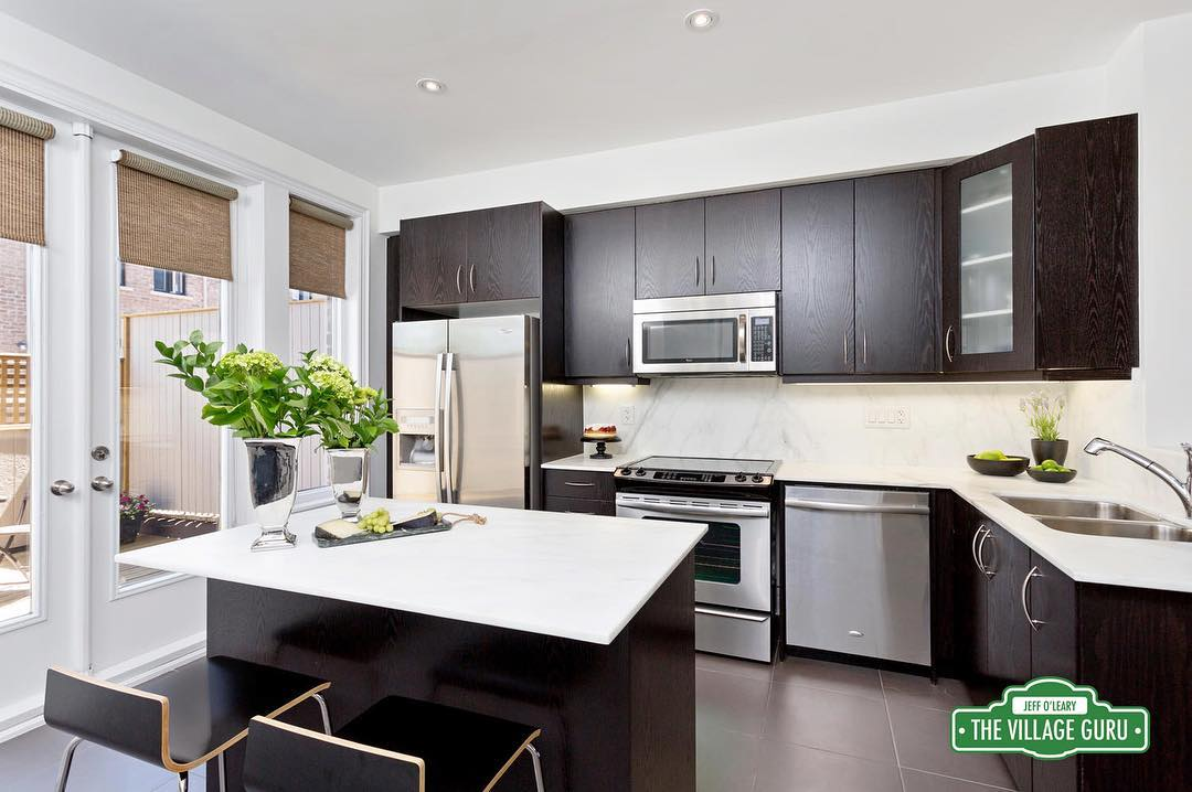 Heres an example of kitchen that was beautiful to beginhellip