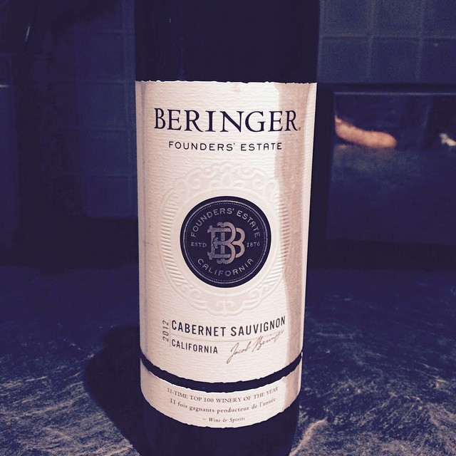 Nice bottle of wine!