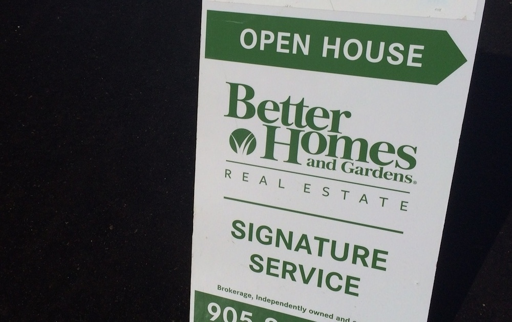 Open House Sign Traditional